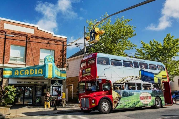 Magic Winery bus tour in Nova Scotia