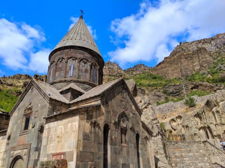 The Geghard Monastery in Armenia