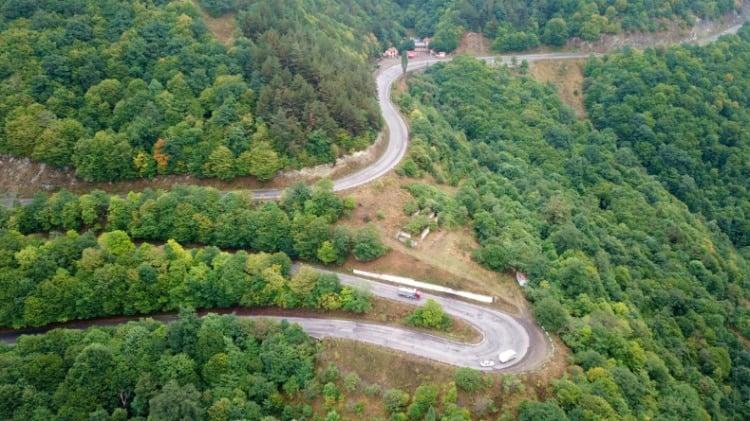 Winding Roads as you Travel to Armenia
