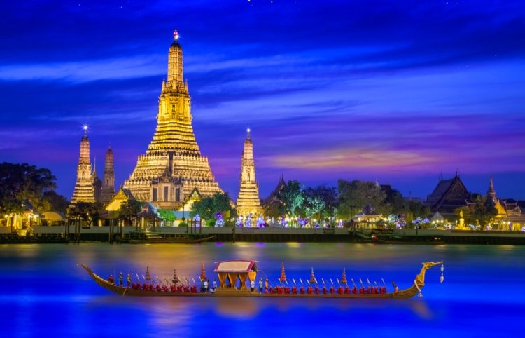 Bangkok Thailand by night