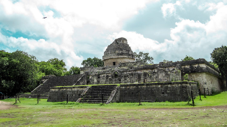 Temple at Chichén Itzá, Mexico