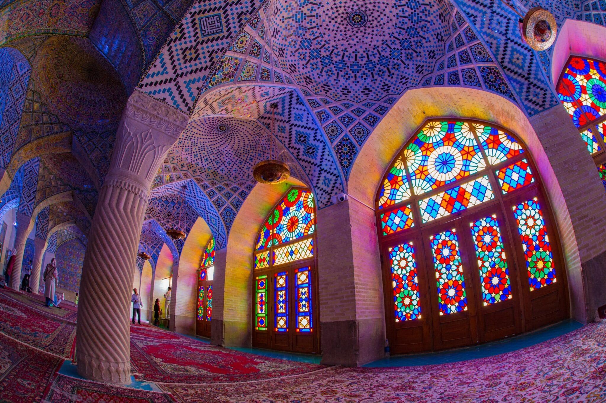 iran inside mosque