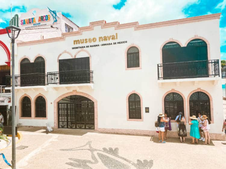 museo naval secretaria de marina armada de mexico Puerto Vallarta