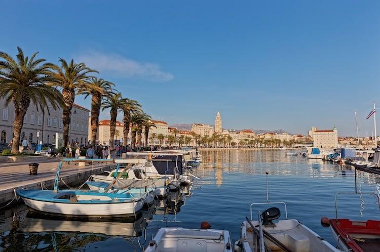 Split Croatia Promenade