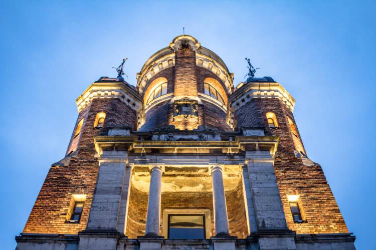 Gardos tower in Zemun Serbia