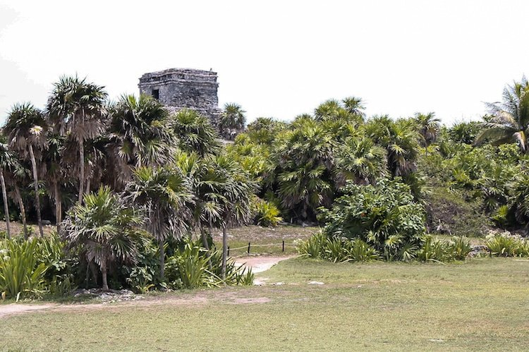 Ruins in Tulum Mexico