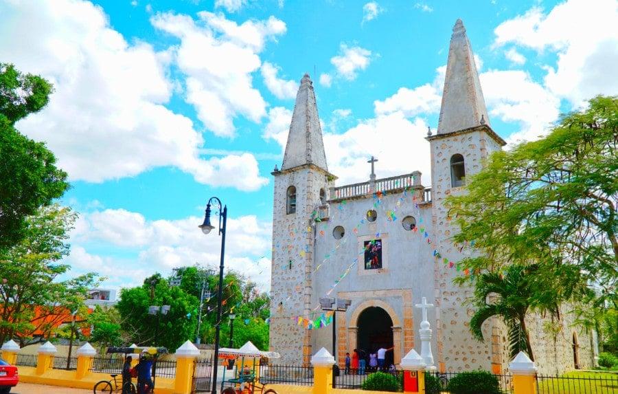 Iglesia San Juan Valladolid Mexico
